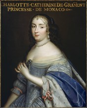 Catherine Charlotte de Gramont (1638-1678), Princess of Monaco and Duchess de Valentinois, c1665. Creator: Anonymous.