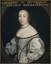 Catherine de Neufville de Villeroy, comtesse d'Armagnac (1639-1707), ca 1665. Creator: Anonymous.