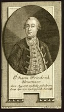 Count Johann Friedrich Struensee (1737-1772), 1772. Creator: Anonymous.