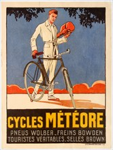 Cycles Météore, 1920s. Creator: Anonymous.