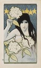 Day and Night (Diptych), 1899. Creator: Preissig, Vojtech (1873-1944).