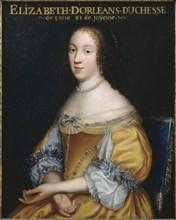 Élisabeth Marguerite d'Orléans (1646-1696), Duchess of Guise, ca 1665. Creator: Anonymous.