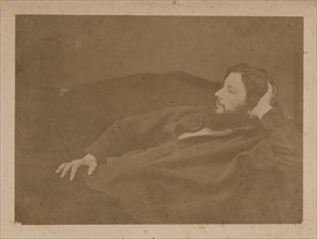 Gustave Courbet, ca 1865. Creator: Anonymous.