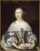 Henrietta of England, Duchess of Orléans (1644-1670), ca 1665. Creator: Anonymous.