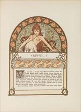 Ilsée, Princesse de Tripoli by Robert de Flers, c. 1900. Creator: Mucha, Alfons Marie (1860-1939).