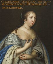 Isabelle Angélique de Montmorency (1627-1695), Duchess of Mecklenburg-Schwerin, ca 1665. Creator: Anonymous.