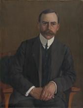 Le Docteur Arthur Hahnloser, 1909. Creator: Vallotton, Felix Edouard (1865-1925).