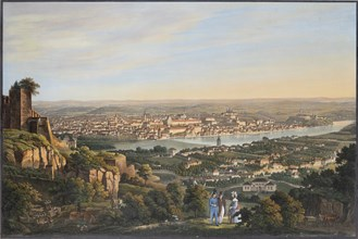Letna, c. 1830. Creator: Morstadt, Vincenc (1802-1875).