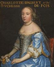 Madeleine Charlotte d'Albert d'Ailly (1649-1665), Duchesse de Foix, ca 1665. Creator: Anonymous.