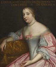 Marguerite Louise Suzanne de Béthune (1643-1726), Comtesse de Guiche, Duchesse de Lude, ca 1665. Creator: Anonymous.