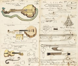 "Music manuscript ""From Miners Music"", ca 1760. Creator: Anonymous."