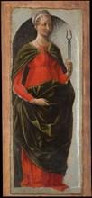Polittico Griffoni: Saint Apollonia, ca 1472-1473. Creator: Ercole de' Roberti, (Ercole Ferrarese) (c. 1450-1496).