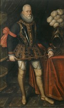 Portrait of Charles Philippe de Croÿ, Marquis d'Havré (1549-1613), 1600s. Creator: Anonymous.