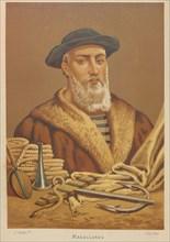 Portrait of Ferdinand Magellan (1470-1521), 1879. Creator: Armet Portanell, José (1843-1911).