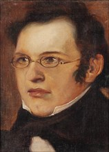 Portrait of Franz Schubert (1797-1828), First quarter of 19th cen.. Creator: Anonymous.