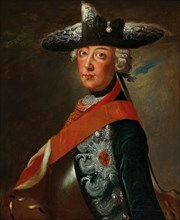Portrait of Frederick II of Prussia (1712-1786). Creator: Anonymous.