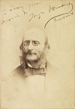 Portrait of Jacques Offenbach (1819-1880), 1878. Creator: Anonymous.