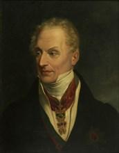 Portrait of Klemens Wenzel, Prince von Metternich (1773-1859), c. 1815. Creator: Anonymous.