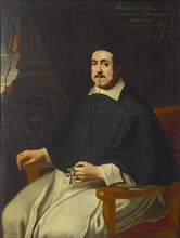 Portrait of Marius Ambrosius Capello (1597-1676), bishop of Antwerp, 1659. Creator: Anonymous.