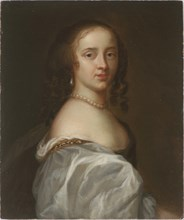 Portrait of Mary Somerset, Duchess of Beaufort (1630-1715), c. 1660. Creator: Anonymous.