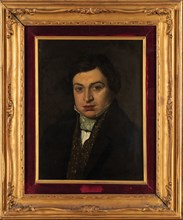 Portrait of the composer Gioachino Antonio Rossini (1792-1868). Creator: Anonymous.