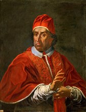 Portrait of the Pope Clement XI, after 1700. Creator: Anonymous.