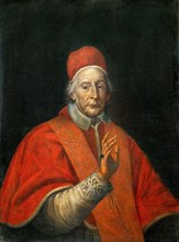 Portrait of the Pope Clement XII, after 1730. Creator: Anonymous.