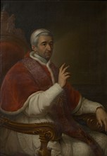 Portrait of the Pope Gregory XVI (1765-1846), c. 1840. Creator: Anonymous.