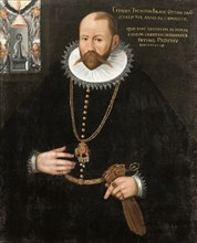 Portrait of Tycho Brahe (1546-1601), 1596. Creator: Anonymous.