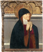 Saint Clare of Assisi, 15th century. Creator: Anonymous.