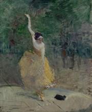 Spanish Dancer, 1883-1885. Creator: Toulouse-Lautrec, Henri, de (1864-1901).