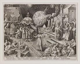 Temperantia (Temperance) from The Seven Virtues, 1560. Creator: Galle, Philipp (Philips) (1537-1612).