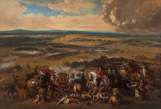 The Battle of Speyerbach on 15 November 1703, 1700s. Creator: Anonymous.
