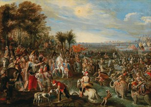 The Departure of Hannibal, Early 18th cen.. Creator: Anonymous.