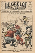 The English in Egypt. Caricature from Le Grelot, March 22, 1896, 1896. Creator: Anonymous.