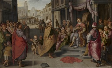 The Judgment of Cambyses, 1620. Creator: Heck, Claes Jacobsz van der (1575-1652).