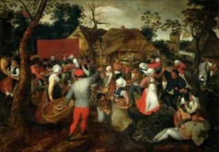 Wedding Dance, ca. 1600. Creator: Brueghel, Jan, the Elder (1568-1625).