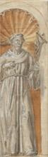 Standing Franciscan Saint in a Niche, 1650-1700. Creator: Anon.