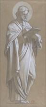 Saint Matthew, 1835-67. Creator: Camille-Auguste Gastine.