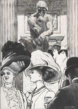 Vor dem Pantheon, 1908. Creator: Heinrich Krenes.