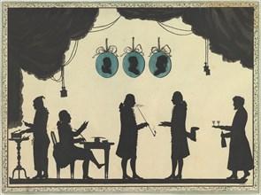 David Roentgen and Company in Saint Petersburg, ca. 1784-86. Creator: Johann Friedrich Anthing.