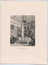 L'appartement du Comte de Mornay, 1873. Creator: Adolphe Martial Potémont.