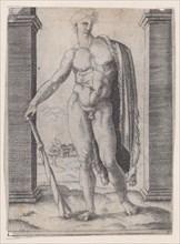 Young Hercules, ca. 1514-36. Creator: Agostino Veneziano.