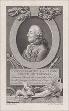 Portrait of Louis Elisabeth de La Vergne, Comte de Tressan, 1783-92., 1783-92. Creator: Nicolas de Launay.