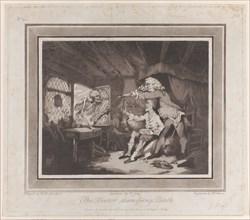 The Doctor Dismissing Death, September 15, 1785., September 15, 1785. Creators: Peter Simon, Francis Jukes.