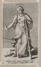 Sanitas, from Prosopographia, ca. 1585-90., ca. 1585-90. Creator: Philip Galle.