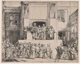 Christ Presented to the People, 1655., 1655. Creator: Rembrandt Harmensz van Rijn.