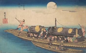 Yodogawa, ca. 1834., ca. 1834. Creator: Ando Hiroshige.