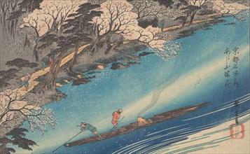 Arashiyama Manka. Creator: Ando Hiroshige.