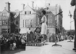 Anita O'Day, Beaulieu Jazz Festival, Hampshire, 1960.